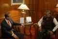 S. Korean diplomat visits India