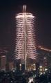 韓国最高層を彩る花火