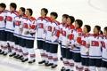 北朝鮮国旗掲揚に選手ら涙