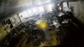 Dentro del ferri Sewol reflotado