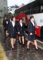 La selección femenina de hockey de Corea del Norte