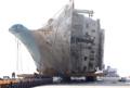 セウォル号の陸揚げ完了