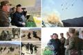 El líder norcoreano inspecciona un concurso de ataque de las fuerzas militares especiales