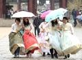 Lluvia en Seúl