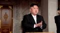 Kim Jong-un en un desfile militar
