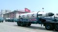 El misil Pukguksong-2 en un desfile militar norcoreano