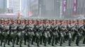 軍事パレードの様子