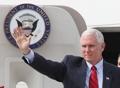 El vicepresidente de EE. UU. llega a Corea del Sur