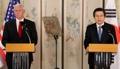 Conférence de presse de Hwang et Pence
