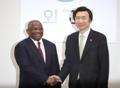 Chefs de diplomatie Corée-Angola