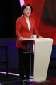 Sim Sang-jeung en el debate presidencial