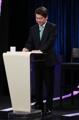 Ahn Cheol-soo en el debate presidencial