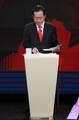 Hong Joon-pyo en el debate presidencial
