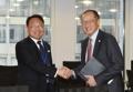 El ministro de Finanzas se reúne con el jefe del Banco Mundial