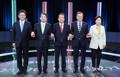 Los cinco partidos parlamentarios