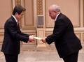 El nuevo embajador de Guatemala ante Corea del Sur
