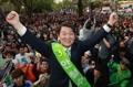 国民之党安哲秀赴韩西南地区游说