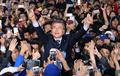 民主党文在寅赴韩中部地区游说