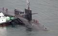 Llega a Busan un submarino nuclear estadounidense