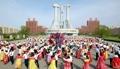 北朝鮮で軍創建記念の舞踏会