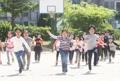 اليوم الرياضي في مدرسة ابتدائية