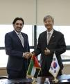 سيئول توقع مع الإمارات على تمديد مدة العقد لإرسال خبراء براءة الاختراع