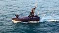 海上境界線監視する無人水上艇
