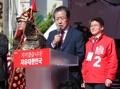 El candidato a presidente Hong Joon-pyo