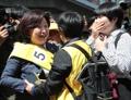 La candidata a presidenta Sim Sang-jeung