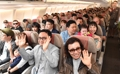 成田行き便は「満席」