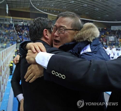 한국 아이스하키 '르네상스' 빚은 정몽원 회장