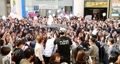 Myeongdong lleno de fans de G-Dragon