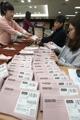 各国から集まった在外投票用紙