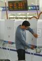 Urnas para la votación preliminar