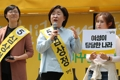 Sim Sang-jeung demande le soutien des jeunes