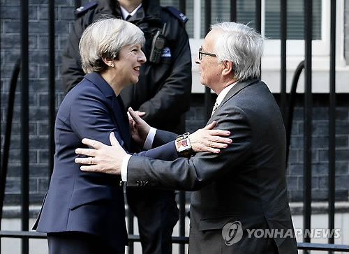 EU, 브렉시트 협상지침 채택…협상 개시 승인