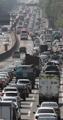 Congestión en las autopistas