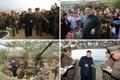 Kim Jong-un inspecte deux unités en première ligne