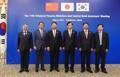 Ministres des Finances et gouverneurs des banques centrales Corée-Chine-Japon