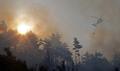 Continúa el incendio forestal