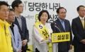 Sim Sang-jeung en plena campaña presidencial
