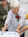 110歳の有権者