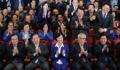 أعضاء الحزب الديمقراطي يهتفون بالتنبؤ بفوز مرشحه في السباق الرئاسي
