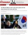 Cuba cubre las elecciones presidenciales surcoreanas por primera vez