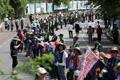 Protestas continuas por el THAAD