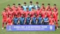 La selección surcoreana para la Copa Mundial de Fútbol Sub-20