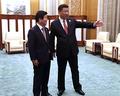 Un député rencontre le président chinois