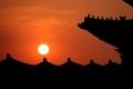 Lever de soleil au palais de Gyeongbok
