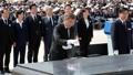 光州民主化運動の記念式典に出席