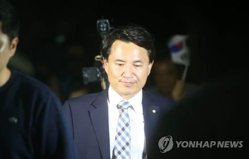 '허위사실 공표' 김진태 의원, 당선 무효형에 불복해 항소 제기